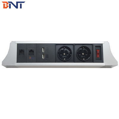 modular design table hanging socket with telephone interface TUS104