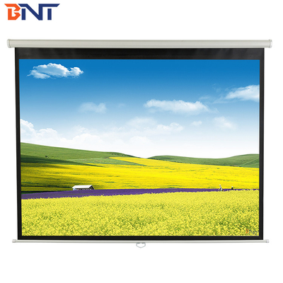 high quality 136 inch electric projector screen  with remote control