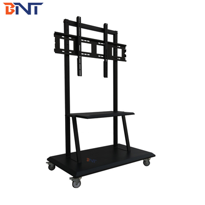 "suitable 42-84 inch  advertising machine  with 4pcs 2.5"" wheel tv mobile bracket"