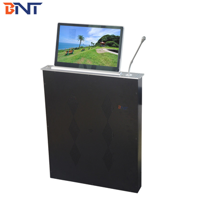 BNT with ultra-thin design 45 degree electrical  adjustable angle  hidden motorized lcd monitor mechanism BLM-17.3