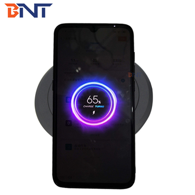 new design black wireless charger for mobile phone
