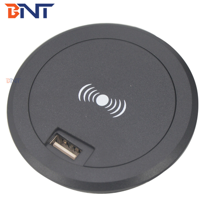 with usb power built in design for mobile phone mini wireless charger
